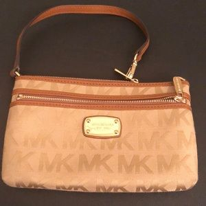 Michael Kors jet set large wristlet!